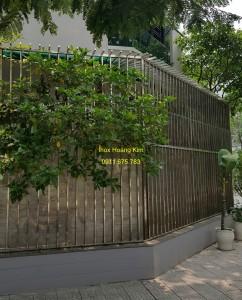 Hàng rào inox mẫu 15