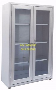 Tủ inox mẫu 1