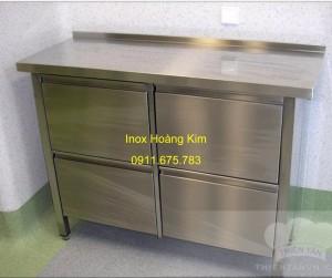 Tủ inox mẫu 7