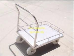 Xe đẩy inox mẫu 7