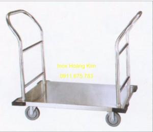 Xe đẩy inox mẫu 13