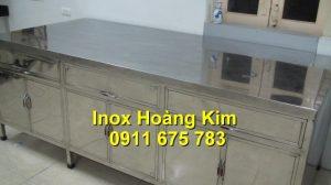 Tủ inox mẫu 3