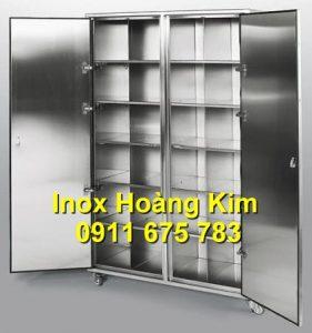 Tủ inox mẫu 6