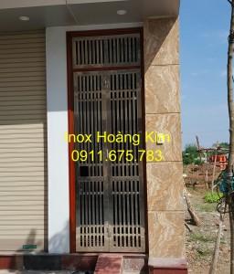 Cổng inox mẫu 86
