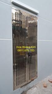 Cổng inox mẫu 91