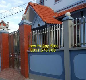 Hàng rào inox mẫu 20