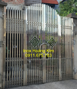 Cổng inox mẫu 92