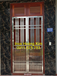cổng inox mẫu 95