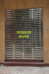 Cổng Inox Mẫu 101