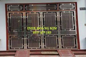 Cổng Inox mẫu 98