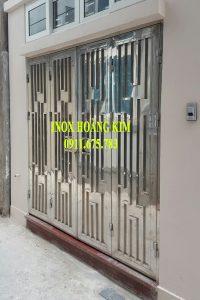 Cổng Inox Mẫu 109
