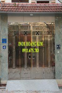 Cổng Inox Mẫu 110