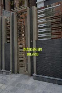 Cổng Inox mẫu 99