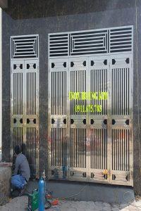 cổng inox mẫu 103