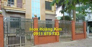 Cổng inox mẫu 116