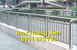 Lan can inox mẫu 35