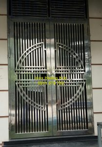 Cổng inox mẫu 117