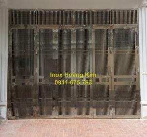 Cổng inox mẫu 119
