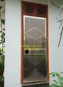 Cổng inox mẫu 123