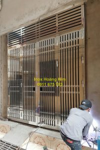 Cổng inox mẫu 124