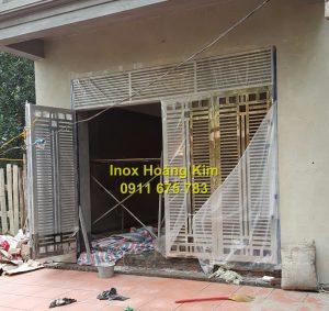 Cổng inox mẫu 125