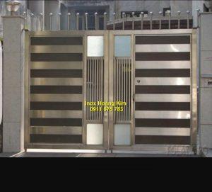 Cổng inox mẫu 128