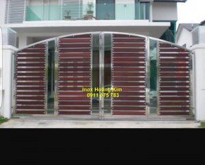 Cổng inox mẫu 133