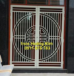 Cổng inox mẫu 139