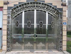 Tại sao nên lựa chọn cổng inox cho căn nhà của bạn?