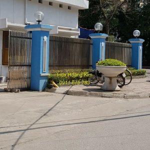 Hàng rào inox mẫu 26