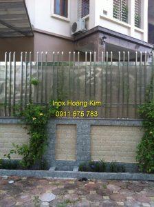 Hàng rào inox mẫu 29