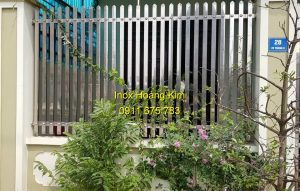 Hàng rào inox mẫu 30