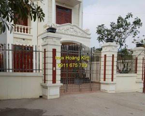 Hàng rào inox mẫu 34