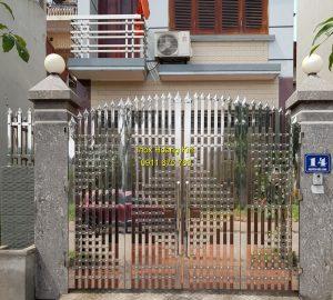 Cổng inox mẫu 156