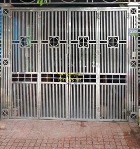Cổng inox mẫu 154