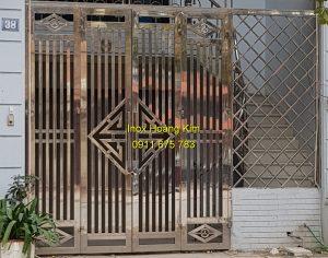 Cổng inox mẫu 159