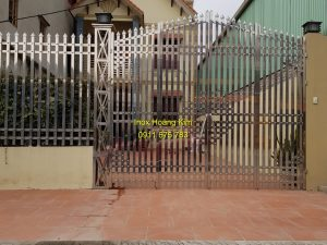 Cổng inox mẫu 160