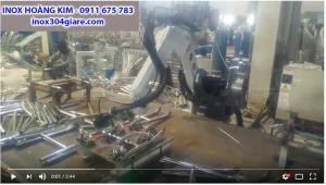 Video robot hàn ống, hộp Inox Hoàng Kim
