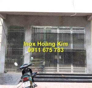Cổng inox mẫu 193