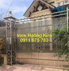 Cổng inox mẫu 195
