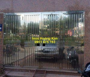 Cổng inox mẫu 194