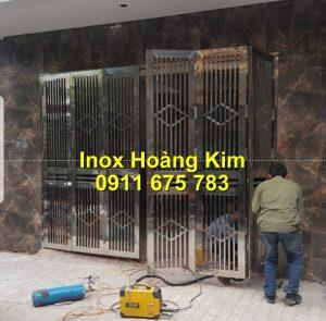 Cổng inox mẫu 176
