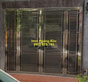 Cổng inox mẫu 181