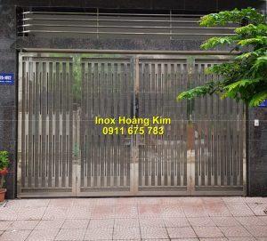 Cổng inox mẫu 182