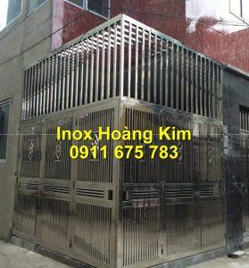 Cổng inox mẫu 196