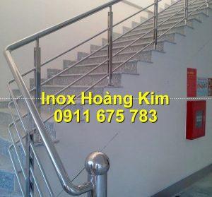 Cầu thang inox mẫu 65