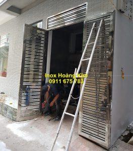 Cổng inox mẫu 201