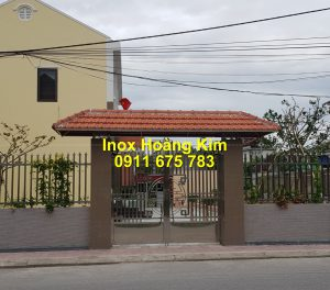 Cổng inox mẫu 225