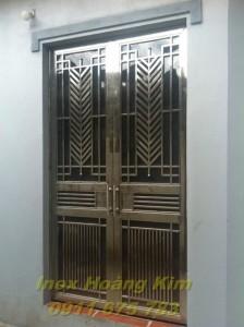 Cổng inox mẫu 17