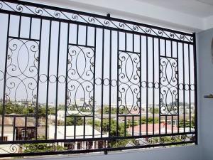 Hàng rào sắt mẫu 7